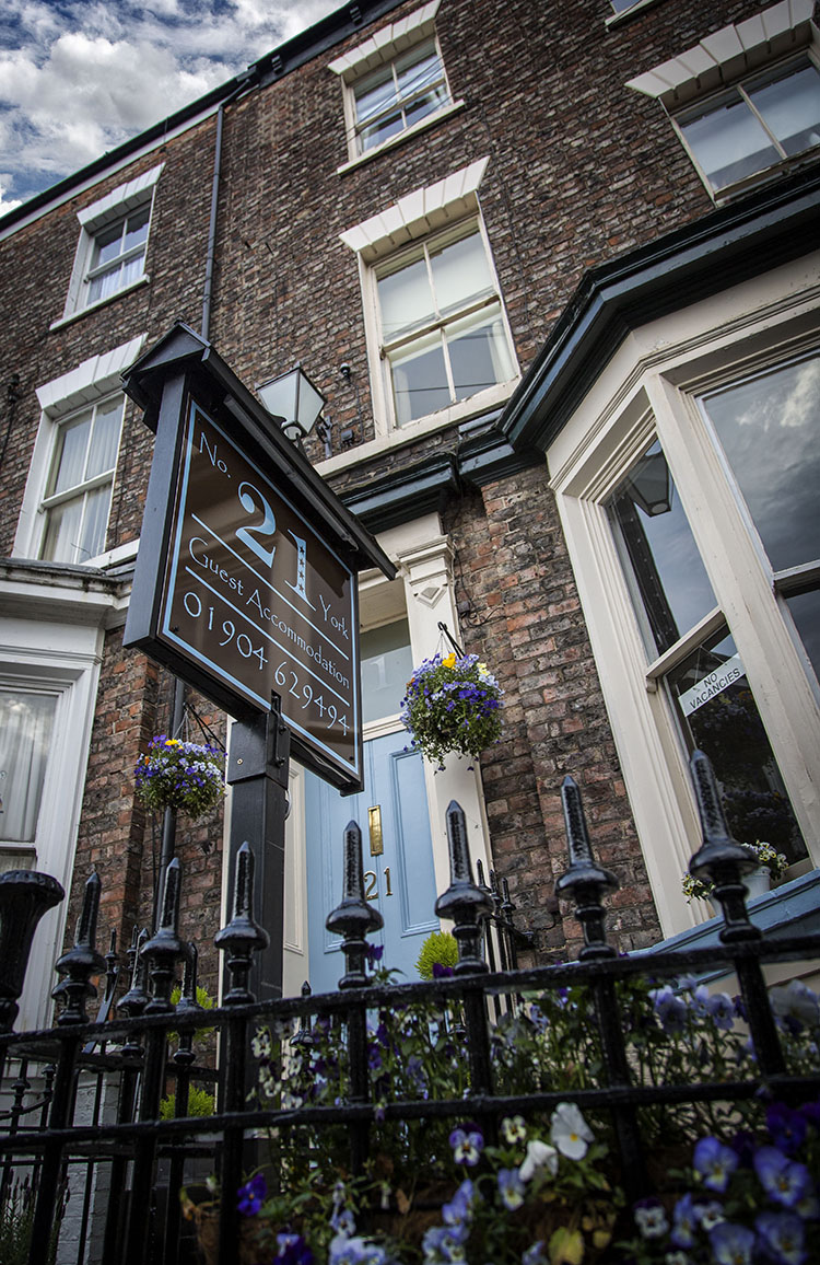 Contact No.21 York Bed & Breakfast Accommodation York